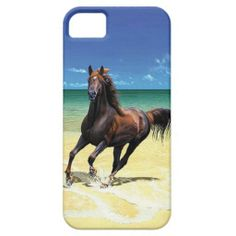 Equine Beach Beauty iPhone 5 Case. Available for purchase at http://www.zazzle.com/KarseDesigns?rf=238039705033944570