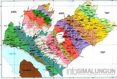 Peta dan Kondisi Geografis Simalungun