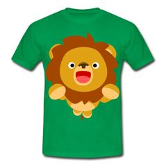 Hi! Cute Playful Cartoon Lion Cheerful Madness!! T-ShirtHe wants to play! :) By Cheerful Madness!!  T-Shirts.