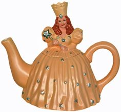 "Before there was Mrs. Potts from ""Beauty and the Beast""....Glinda Teapot...the Wizard of Oz"