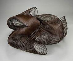 By Honda Syôryû     Galaxy, 2001.  Bamboo (madake) and rattan. Asian Art Museum, Japanese Bamboo, Bamboo Art, Bamboo Basket, Weaving Art, Bamboo Weaving, Japanese Artists, Art Object, Textile Art
