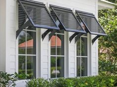 Exterior Shutters For Windows - Homes With Bahama Shutters . Bermuda Shutters, Bahama Shutters, Window Shutters Exterior, Outdoor Shutters, House Shutters, Windows With Shutters, Homes With Shutters, Metal Window Awnings, Outside Window Shutters