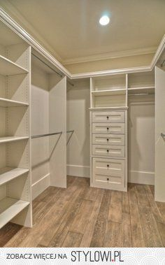 master closet idea..Built Ins are always smart and ...… na Stylowi.pl
