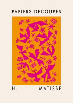 Matisse Art, Henri Matisse, Poster Prints, Poster On, Art Prints, Medieval Drawings, Library Posters, Textile Pattern Design, Exhibition Poster
