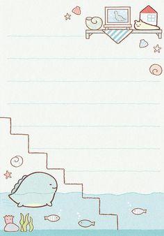 """San-X Sumikko Gurashi """"House"""" Folding Memo Paper Scrapbook, Printable Scrapbook Paper, Printable Paper, K Wallpaper, Kawaii Wallpaper, Kawaii Drawings, Cute Drawings, Memo Format, Memo Notepad"""