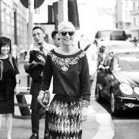 Elisa Nalin  Street style Milan Fashion Week