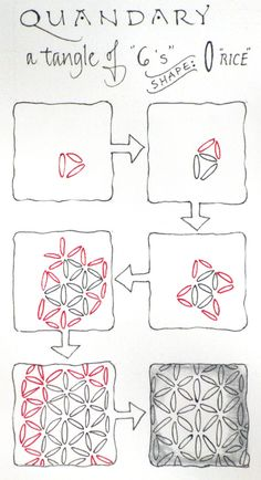 """It's Official! """"Quandry"""" a brand new Zentangle tangle is public! Have fun, pass it on... by Zentangle co-founder Maria Thomas --> Great tools for light-workers.. Flower of Life T-Shirts, V-necks, Sweaters, Hoodies & More ONLY 13$ EACH! LIMITED TIME CLICK ON THE PICTURE"""