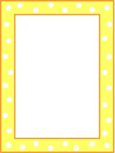 Dots and Frames--31 different borders to use when creating items for your classroom
