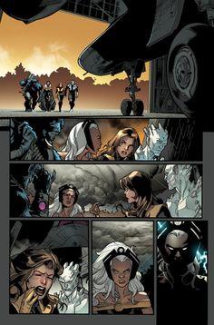 All New X-Men 1 Unlettered Preview  Stuart Immonen