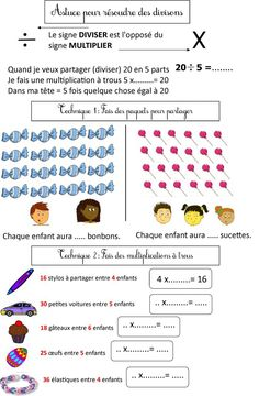 calcul CE2 | Le BLOG de Monsieur Mathieu Division Posée, Math 5, Cycle 3, School Games, Kids Education, Math Centers, Kids And Parenting, Homework, Teacher