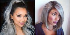 El pelo gris está de moda y ya podemos verlo en las redes sociales. ¡Aquí encontrarás más ideas!