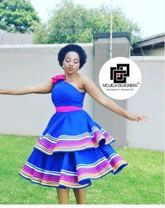 Sotho Traditional Dresses, Pedi Traditional Attire, South African Traditional Dresses, Traditional Dresses Designs, Traditional Wedding Dresses, Traditional Outfits, Latest African Fashion Dresses, African Print Dresses, African Print Fashion