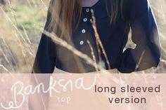 Banksia sewalong: long sleeved version