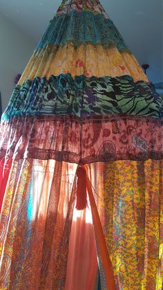 Bohemian Canopy - Bedroom, Chair, Glamping, Festival, Garden, Reading Nook, Meditation, Quiet Space, Study, Dorm, StageSet, Backdrop by BohemianStitchesUS on Etsy