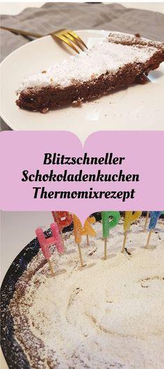 Ein saftiger und lecker Schokoladenkuchen. Rezept für Thermomix. Backen für Geburtstage und Familie