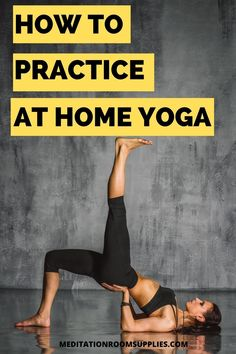 How to practice at home yoga. Going to a yoga studio can be a hassle, see an easy alternative so you can easily do yoga from the comfort of your home when it's convenient for you! (sponsored post)  yoga poses for beginners, how to start yoga, yoga for stress relief, yoga for weight loss fat burning #yoga #fitness #athomeyoga Buddhism For Beginners, Meditation For Beginners, Yoga Poses For Beginners, Meditation Corner, Meditation Space, Yoga Room Decor, Yoga For Stress Relief, Room Ideas, Decor Ideas