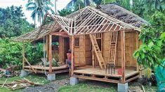 Style At Home, Bahay Kubo, Bamboo House, Cabin, House Styles, Modern, Home Decor, Bamboo, Home