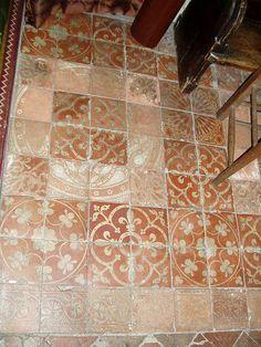 Medieval Tiled Floor by Aidan McRae Thomson, via Flickr