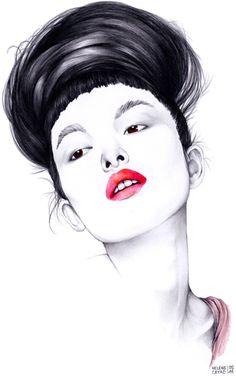 helene cayre, illustratrice, agence Marie Bastille