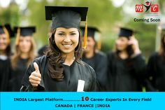 INDIA Largest Platform....  10 Career Experts In Every Field.  #CANADA | FRANCE | #INDIA  Coming on @mycindia.com  Online & Offline Available