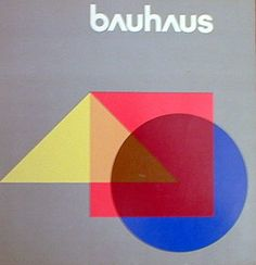 Despite the fact that it lasted for only fourteen years, the legacy of the Bauhaus endures and its principles can be seen in much of what we think of today as contemporary or modern design, whether it's in the homes we live in or the typography we use. Atelier Architecture, Bauhaus Architecture, Bauhaus Art, Bauhaus Design, Walter Gropius, Wassily Kandinsky, Book Cover Design, Book Design, Johannes Itten