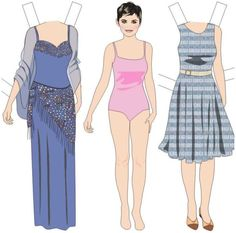 Once Upon a Time Paper Dolls (FREE) Printables