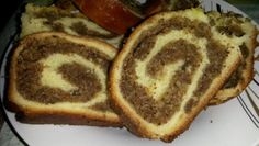Romanian Desserts, Romanian Food, Loaf Cake, Christmas Goodies, Nutella, Bread Recipes, French Toast, Food And Drink, Sweets
