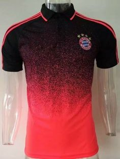 2017 Polo Jersey Bayern Munich Replica Football Shirt [AFC309]