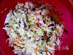 Homemade Coleslaw Recipe...