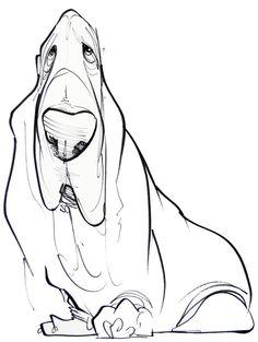 Pet Caricature Portrait – JohnLaFree.com