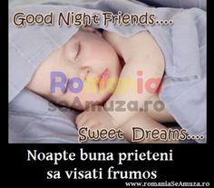 Poze funny de noapte buna cu bebelusi / Somn usor si vise placute