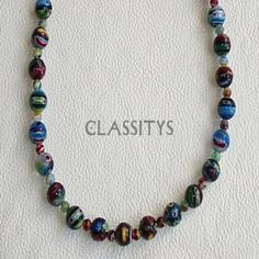 www.classitysjewel.com Fashion jewelry. *Limited units* Límites edition Murano glass necklace. 210,00 €