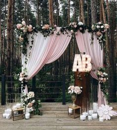 24 Unique and Greenary Wedding Backdrop Ideas
