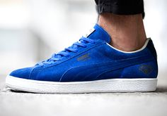 "#Puma Suede ""Sapphire"" great look for the summer. www.shop.puma.com"