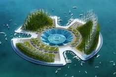 Lilypad: A green utopia for the year 2100