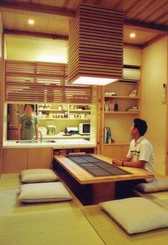 株式会社 atelier waon の モダンな ダイニング 岸和田の家 Modern Japanese Interior, Japanese Modern House, Japanese Interior Design, Bedroom Minimalist, Minimalist Interior, Minimalist Home, Home Design Diy, Home Design Plans, House Design