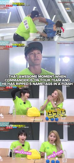 Just love Kookie in this episode! He's the Commander, all right!