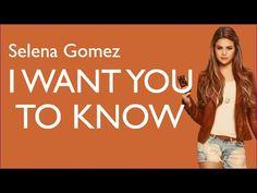 I Want You To Know - Zedd feat Selena Gomez [Lyrics Piano]