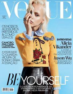 Americana: Laura Mayerhofer Wears Retro Looks for Vogue Portugal