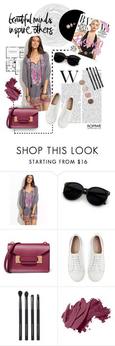 """""""Untitled #53"""" by kallimanis ❤ liked on Polyvore featuring Paul Frank, Sophie Hulme, Mint Velvet, Japonesque, Terre Mère, Bobbi Brown Cosmetics and Thomas Sabo"""
