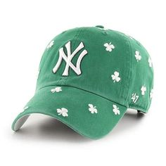 5f003aefd6e New York Yankees 47 Brand St Patty s Green Clean Up Adjustable Hat Yankees  Hat