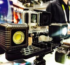 #CES2016 is raving about @lumecube a portable light for action cameras. #lumecube #goproeverything