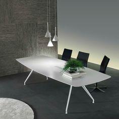 Contemporary table / oak / home / rectangular MANTA by Giuseppe Bavuso  RIMADESIO