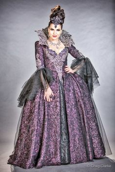 Regina Mills, Once Upon A Time, Regina Ouat, Evil Queen Costume, Once Upon A Mattress, Rococo Fashion, Queen Outfit, Evil Queens, Movie Costumes