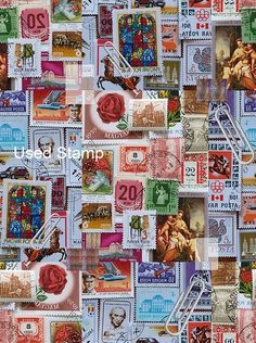 Postage stamps galore!