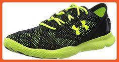 Under Armour Mens UA SpeedForm® Apollo Vent Running Shoes 12 Black - Athletic shoes for women (*Amazon Partner-Link)