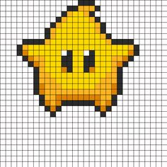 Super Mario Galaxy Luma Star by Divinedork on Kandi Patterns