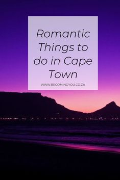 9 Romantic Things To Do In Cape Town: Anniversary Ideas Romantic Things To Do, Most Romantic Places, Romantic Dates, Most Beautiful Cities, Market Day Ideas, Africa Destinations, Travel Destinations, Cute Date Ideas, Cape Town South Africa