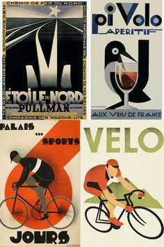 vintage cycling posters - Google Search