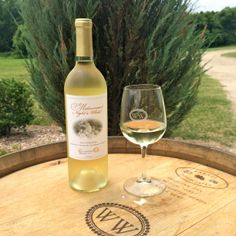The new release of The Williamsburg Winery's A Midsummer's Night White has just been bottled!